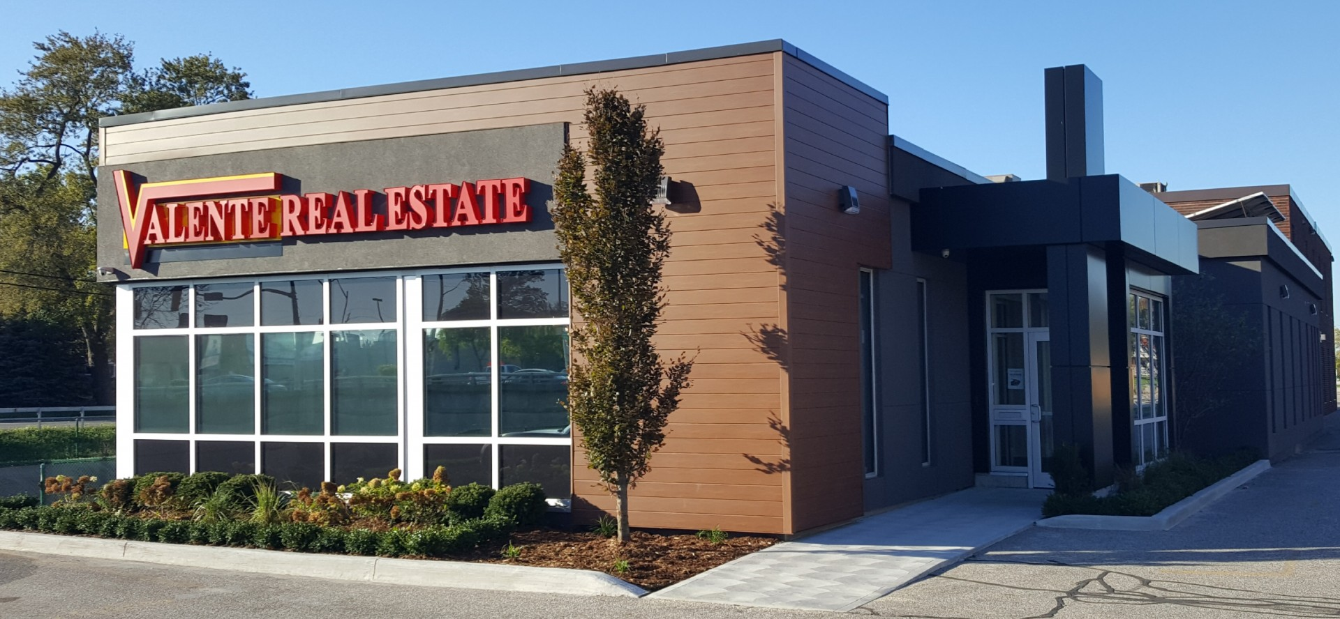 New Look For Valente Real Estate Office