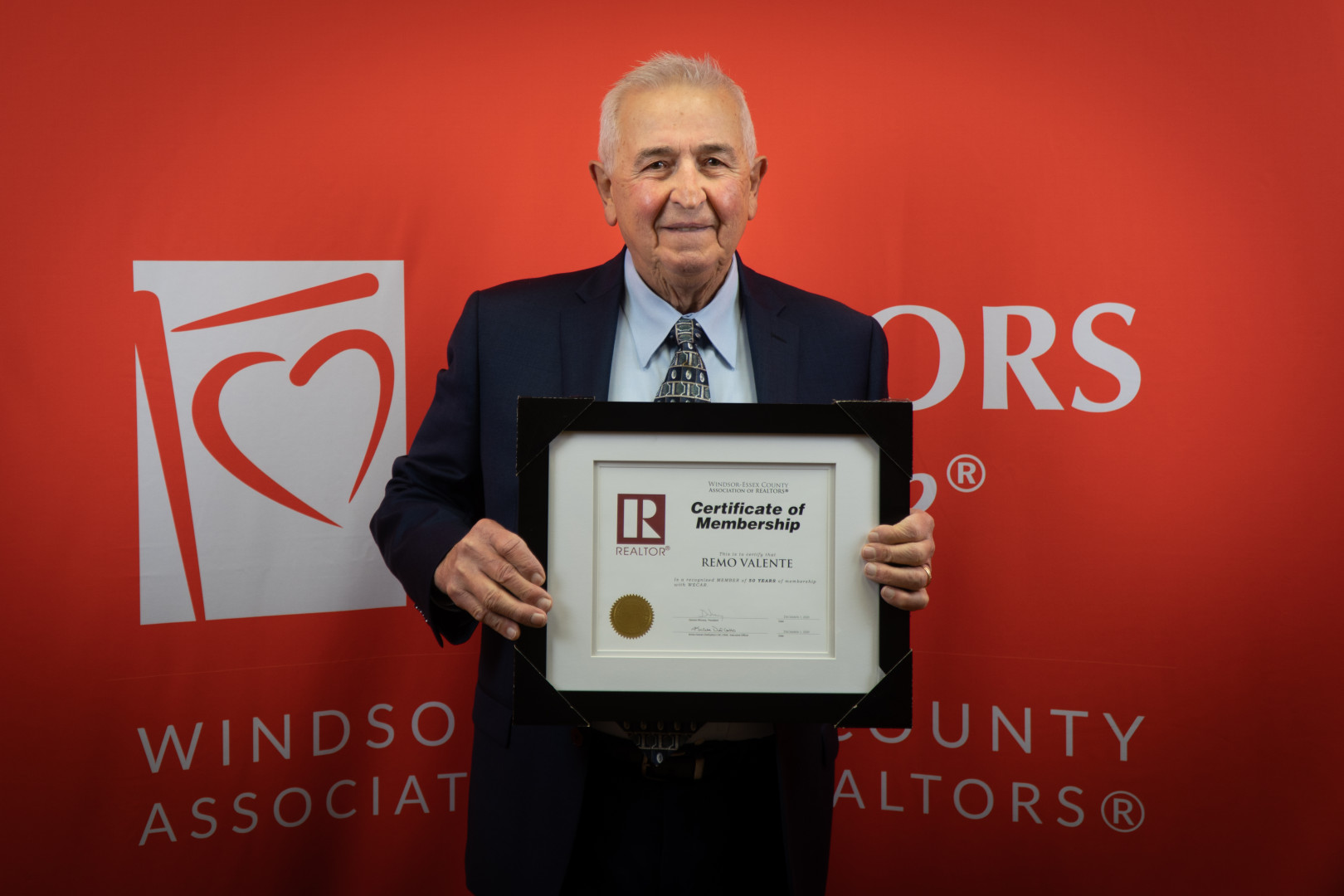 50 YEARS AND COUNTING... CONGRATULATIONS REMO VALENTE!